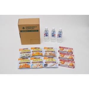 災害備蓄用 A4箱入り 1名様3日分9食セット尾西食品アルファ米人気6種+ライスクッキー3個 防災アプリQRコード付き|ss-miyabi-store