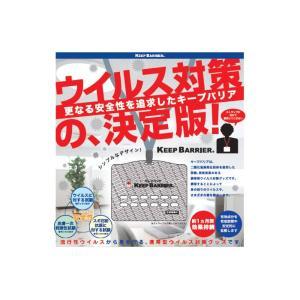 キープバリア(10個)ウイルス対策の新決定版 ◆ 空気中の成分と反応し二酸化塩素ガスが発生、ウイルス除去・除菌・消臭が出来る ss-miyabi-store