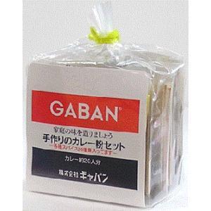 GABAN(ギャバン) 手作りのカレー粉セット パウダー 100g 袋