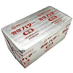 雪印 有塩バター 450g の画像
