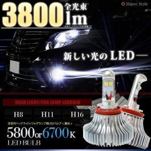 LED フォグランプ H8 H11 H16 LEDバルブ