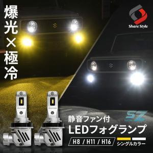 LEDバルブ フォグランプ用 H8 H11 H16 HB4 80W Cree LED採用
