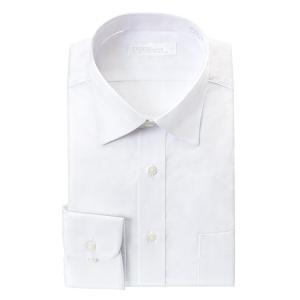 ワイシャツ メンズ 長袖 超形態安定 白シャツ 抗菌防臭 セミワイドカラー S M L LL 3L 4L 5L ドレスシャツ 冠婚葬祭 ホワイト CYGNUS  冠婚葬祭|シャツステーション