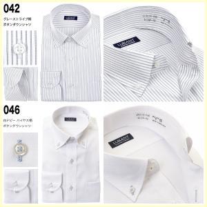 ワイシャツ メンズ 長袖 形態安定 おしゃれ メンズ セット 5枚 ビジネス ボタンダウン ストライプ 送料無料 ランキング|ss1946|13