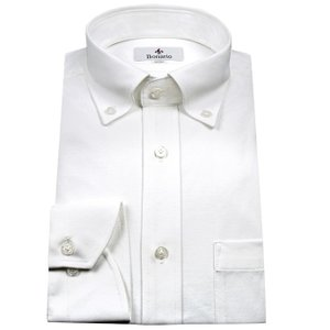 Bonario | メンズワイシャツ・スリム・ストレッチ・イ...
