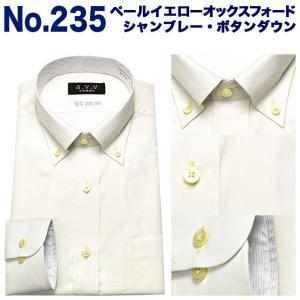 ワイシャツ メンズ クールビズ 夏 長袖 形態安定 ビジネス シャツ ドレスシャツ 吸水速乾 ボタンダウン スリム a.v.v avv|ss1946|05
