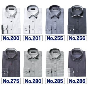ワイシャツ メンズ 形態安定 長袖 スリム ワイド ボタンダウン ダークカラー U.P renoma|ss1946|10