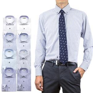 送料無料 3枚セット ワイシャツ メンズ 長袖 形態安定 ボタンダウン ワイド ビジネスシャツ|ss1946