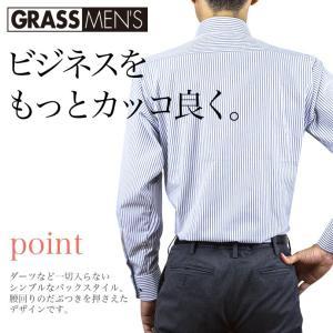 送料無料 3枚セット ワイシャツ メンズ 長袖 形態安定 ボタンダウン ワイド ビジネスシャツ|ss1946|17