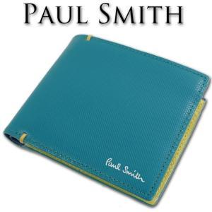ポールスミス Paul Smith コントラストカラー 牛革...