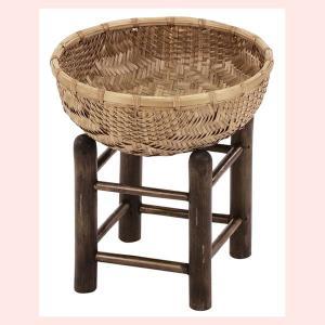 『竹』土台付き丸タイプ小物入れ「22×10cm」|sshana