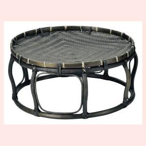 『竹』土台付き丸タイプざるトレイ「45×20cm」|sshana