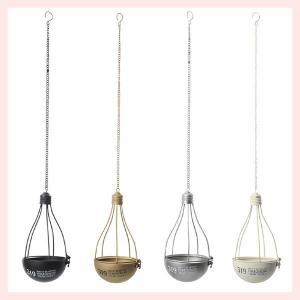 『ブリキ』電球型吊り下げプランター/4種類|sshana