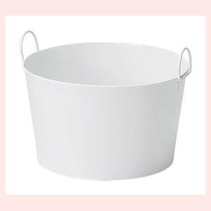 『ブリキ』丸型バスケット「41×25.5cm」|sshana