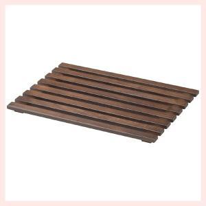 『チェリーウッド』四角タイプ平面トレー「40×30×2cm」/横ライン|sshana