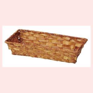 『染竹』四角タイプトレー「27×12×5cm」10Pセット/ブラウン|sshana
