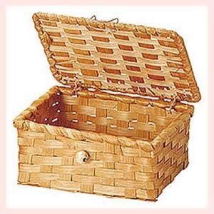 『染竹』蓋付き四角タイプ小物入れ「14.5×11×6.5cm」5Pセット/ブラウン|sshana