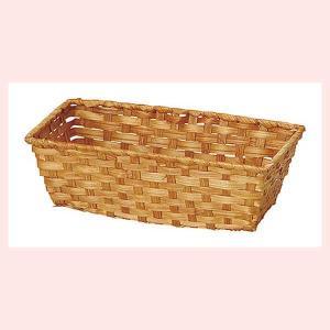 『染竹』四角タイプ小物入れ「32×16.5×10cm」5Pセット/ブラウン|sshana