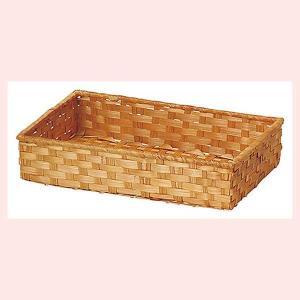 『染竹』四角タイプトレー「29×18×6cm」3Pセット/ブラウン|sshana