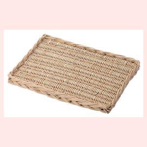 『煮柳』四角タイプ平面トレー「40×30×3cm」(ナプキン無し)|sshana