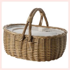 『煮柳』保冷保温シート付きピクニックバスケット「40×30×17cm」/チェック柄|sshana