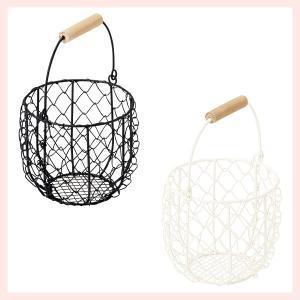 『ワイヤー』小物バスケット(片手持ち)「11×10cm」2Pセット/2種類|sshana