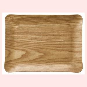 『パルプ』ノンスリップトレー(カーブ)「28.5×20.5×2cm」|sshana