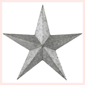 スチール製スターサイン/シルバー|sshana
