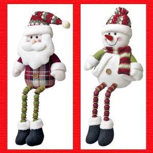 『クリスマス』足ぶらドール(チェック)/2種類|sshana