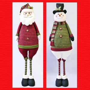 『クリスマス』伸縮マスコットドールLL(ループニット)/2種類|sshana