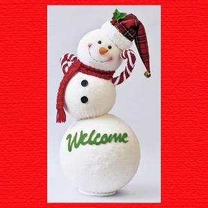 『クリスマス』まんまるころりんスノーマン|sshana
