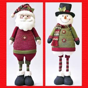 『クリスマス』伸縮マスコットドールM(ループニット)/2種類|sshana