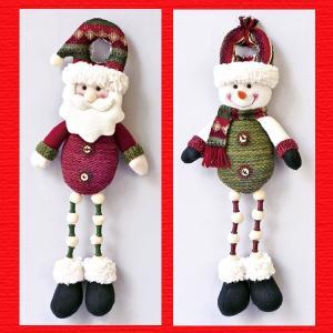 『クリスマス』ドアノブ足ぶらドール(ループニット)/2種類|sshana