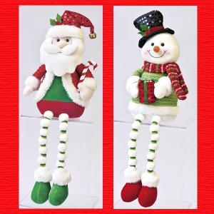 『クリスマス』足ぶらドール(キラキラ)/2種類|sshana