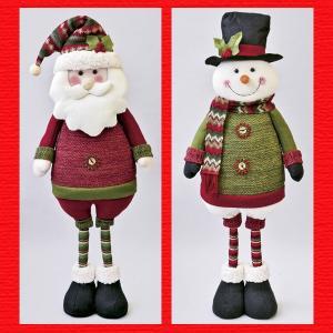 『クリスマス』伸縮マスコットドールL(ループニット)/2種類|sshana
