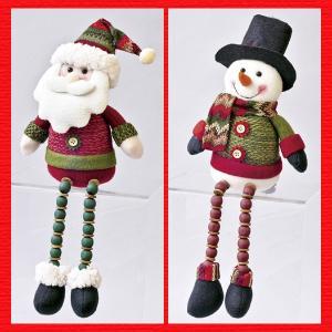 『クリスマス』足ぶらドール(ループニット)/2種類|sshana