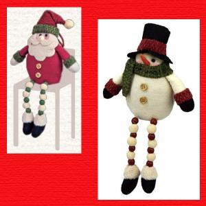 『クリスマス』足ぶらドール(plump)M/2種類|sshana