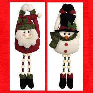『クリスマス』ドアハンガー足ぶらドール/2種類|sshana