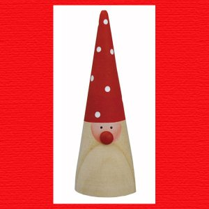 『クリスマス』木製コーンサンタ|sshana