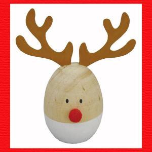 『クリスマス』木製エッグディア|sshana