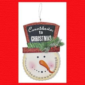 『クリスマス』ブリキ製アドベントスノーマン|sshana