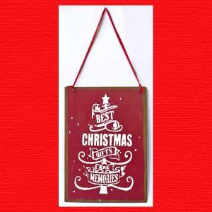 『クリスマス』ブリキプレート(Xmas)|sshana