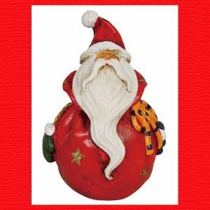 『クリスマス』レジン製の置物(プランプ/サンタ)|sshana