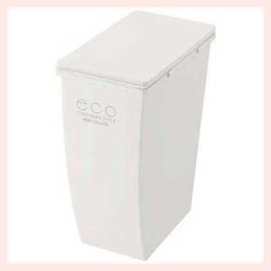 コロ付きダストボックス(コンテナスタイル4/21L)/ホワイト|sshana