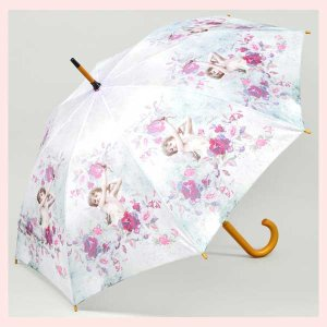 エンジェル柄のジャンプ傘/キューピッド|sshana