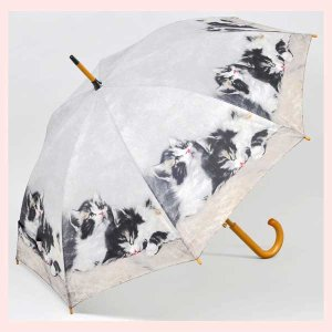 キャット柄のジャンプ傘/キティ|sshana