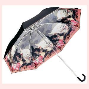 キャットデザインの晴雨兼用折りたたみ傘(キャットフレンド)|sshana