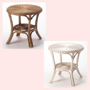 『ラタン』テーブル(A)/2種類|sshana