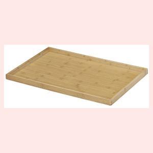 『竹』四角タイプ陳列トレー「60×40×3cm」|sshana