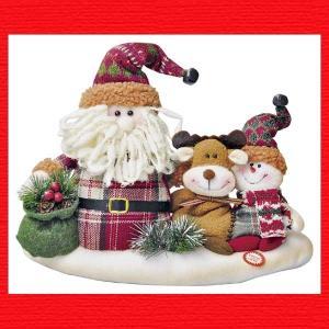 『クリスマス』サンタ&フレンズのおもちゃ|sshana